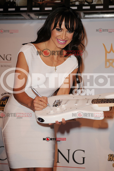 HOLLYWOOD FL - JUNE 22 : Karina Smirnoff arrives during Don King's 80th birthday celebration at Hard Rock live held at the Seminole Hard Rock Hotel &amp; Casino on June 22, 2012 in Hollywood, Florida. &copy;&nbsp;mpi04/MediaPunch Inc NORTEPHOTO.COM<br /> **SOLO*VENTA*EN*MEXICO**<br /> **CREDITO*OBLIGATORIO** <br /> *No*Venta*A*Terceros*<br /> *No*Sale*So*third*<br /> ** No Se Permite Hacer Archivo**