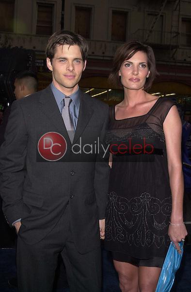 James Marsden and Wife Lisa