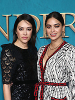 "HOLLYWOOD, CA - FEBRUARY 13: Mishel Prada, Melissa Barrera, at the Premiere Of Starz's ""Outlander"" Season 5 at HHollywood Palladium in Hollywood California on February 13, 2020. Credit: Faye Sadou/MediaPunch"