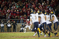 STANFORD, CA - November 18, 2017: Ben Edwards at Stanford Stadium. The Stanford Cardinal defeated Cal 17-14 to win its eighth straight Big Game.