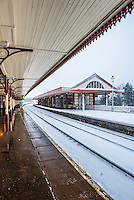 Aviemore train station, Cairngorms National Park, Scotland