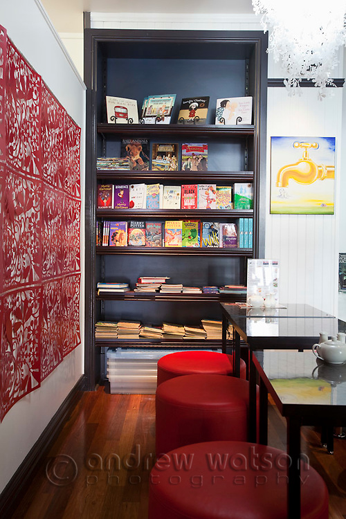 Ever After Cafe Bookstore.  Cairns, Queensland, Australia