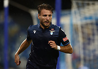 1st August 2020; Stadio San Paolo, Naples, Campania, Italy; Serie A Football, Napoli versus Lazio; Ciro Immobile of SS Lazio celebrates after scoring in the 22nd  minute for 1-1