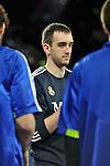 MADRID, Spain (22/01/11). Liga ACB de baloncesto, jornada 18, Real Madrid vs Asefa Estudiantes. Caja Magica...Mirza Bagic...©Raul Perez .