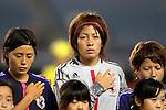(L-R) Hikaru Naomoto, Sakiko Ikeda, Nozomi Fujita (JPN), AUGUST 19, 2012 - Football / Soccer : FIFA U-20 Women's World Cup Japan 2012 Group A match between Japan 4-1 Mexico at Miyagi Stadium in Miyagi, Japan. (Photo by Toshihiro Kitagawa/AFLO)