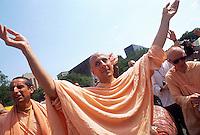 New York, NY Hare Krishna Festival of the Charriots in Washington Square Park