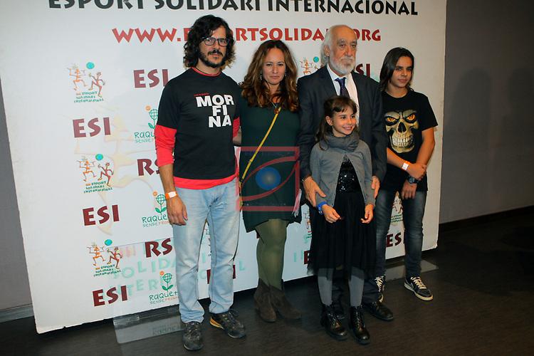 XIV Sopar Solidari de Nadal.<br /> Esport Solidari Internacional-ESI.<br /> Josep Maldonado & Petruska con su familia.