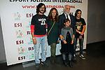 XIV Sopar Solidari de Nadal.<br /> Esport Solidari Internacional-ESI.<br /> Josep Maldonado &amp; Petruska con su familia.