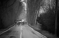 3 Days of West-Flanders, .day 3: Nieuwpoort-Ichtegem.the peloton in pieces