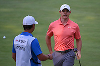 Rory McIlroy (NIR) after sinking his putt on 17 during round 4 of the World Golf Championships, Mexico, Club De Golf Chapultepec, Mexico City, Mexico. 2/24/2019.<br /> Picture: Golffile | Ken Murray<br /> <br /> <br /> All photo usage must carry mandatory copyright credit (© Golffile | Ken Murray)