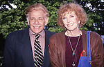 Jerry Stiller and Anne Meara attends a party at Gracie Mansion, June 1, 1993 in New York City.