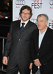 "HOLLYWOOD, CA. - November 03: Kirk Jones and Robert De Niro arrive at the AFI FEST 2009 Screening Of Miramax's ""Everbody's Fine"" on November 3, 2009 in Hollywood, California."