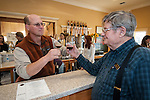"""Amador Vintner's Behind the Cellar Door event at the wineries of Amador County..Jeff Runquist and hit father """"Pops"""""""