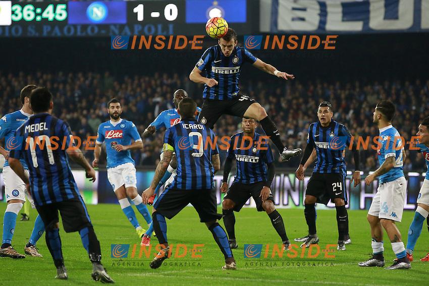 Ivan Perisic Inter,  <br /> Napoli 30-11-2015 Stadio San Paolo <br /> Football Calcio Serie A 2015/2016 Napoli - Inter<br /> Foto Cesare Purini / Insidefoto