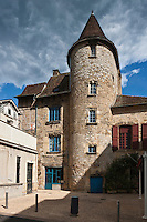 Europe/Europe/France/Midi-Pyrénées/46/Lot/Saint-Céré: Hôtel de Puymule, sur la place de l'église