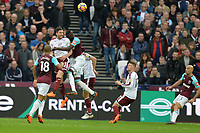Jeff Hendrick of Burnley  clears a cross  during West Ham United vs Burnley, Premier League Football at The London Stadium on 10th March 2018