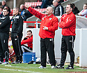 Airdrie manager Gary Bollan.