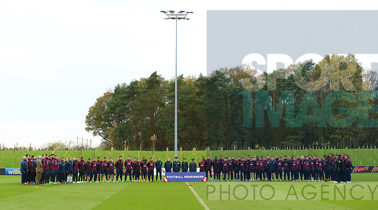 - England Training & Press Conference - UEFA Euro 2016 Qualifying - St George's Park - Burton-upon-Trent - 11/11/2014 Pic Philip Oldham/Sportimage