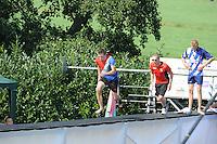 FIERLJEPPEN: VLIST: 22-08-2015, NK Fierljeppen/Polstokverspringen, Jaco de Groot (heren) 20.25m, Klaske Nauta (dames), 16.31m, Erwin Timmerarends (junioren) 19.79m, Gerwin Kastelein (jongens) 17.17m, ©foto Martin de Jong