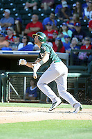 Chad Pinder - Oakland Athletics 2016 spring training (Bill Mitchell)