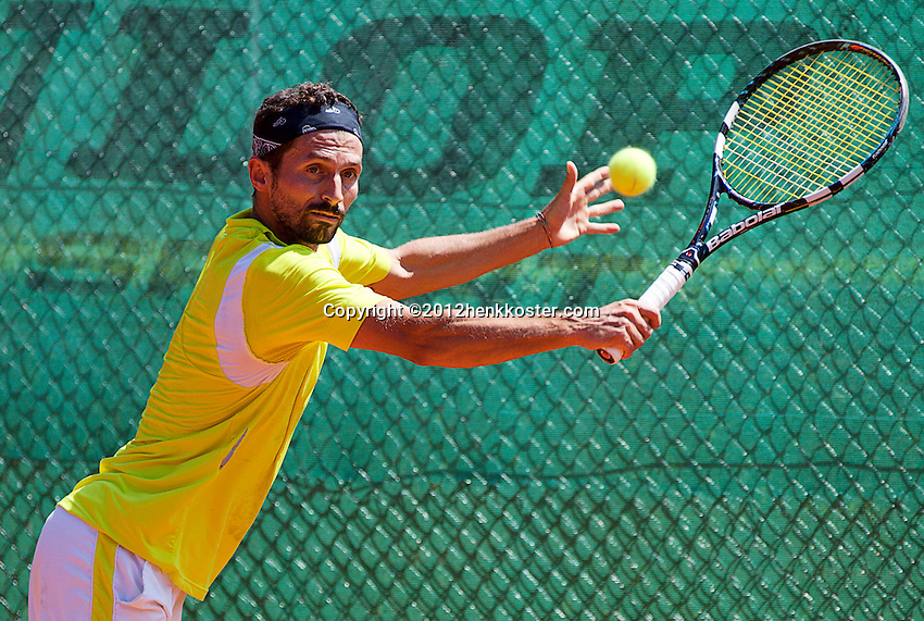 10-06-12, Netherlands, Den Haag, Tennis, Playoffs Competitie, Simone Vagnozzi