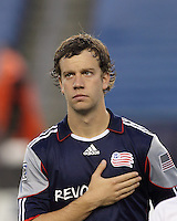 New England Revolution forward Zack Schilawski (15). The New England Revolution defeated the New York Red Bulls, 3-2, at Gillette Stadium on May 29, 2010.