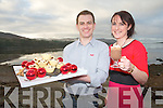 Derick McMahon and Karen Coakley are Kenmare Foodies who aim to promote local produce and home-cooking through their online food blog and cookery demonstrations.