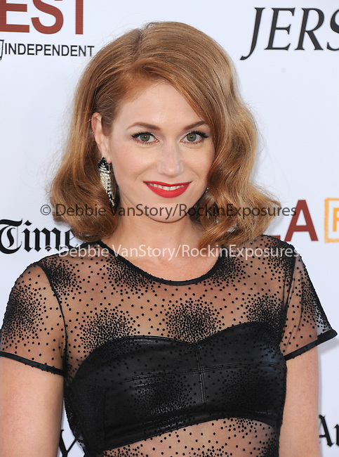"Erica Piccininni attends The Los Angeles Film Festival 2014 Closing Night Premiere of Warner bros. Pictures ""Jersey Boys"" held at The Regal Cinemas L.A. Live in Los Angeles, California on June 19,2014                                                                               © 2014 Hollywood Press Agency"
