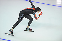 SPEEDSKATING: CALGARY: 13-11-2015, Olympic Oval, ISU World Cup, 3000m, Ivanie Blondin (NED), ©foto Martin de Jong
