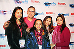 Sandra Saldanha family at New Years Eve celebration at the Copacabana, New York City on December 31, 2017 hosted by Dale Badway (Photo by Sue Coflin/Max Photo)