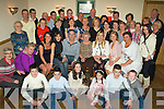 Happy Birthday - Ester Coffey from Strand Road, seated centre having a wonderful time with friends and family at her special birthday party held in The Kerins O'Rahillys GAA Clubhouse on Friday night.............................................................................................................................................................................. ............