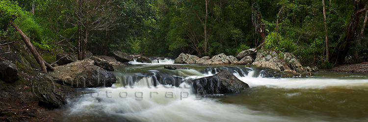 Crystal Cascades - a popular freshwater swimming hole near Cairns, Queensland, Australia