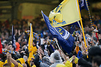 Nashville, TENN. - Saturday February 10, 2018: Nashville SC celebrate a goal during a preseason exhibition match between Nashville SC vs Atlanta United FC at First Tennessee Park.