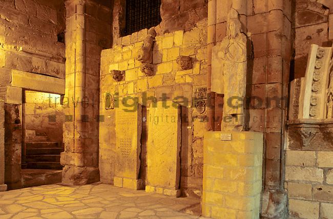 Interior of Castle of Limassol, Innenansicht, Burg von Limassol, Cyprus, Zypern.