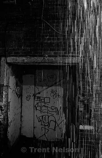 Rain in the alley<br />
