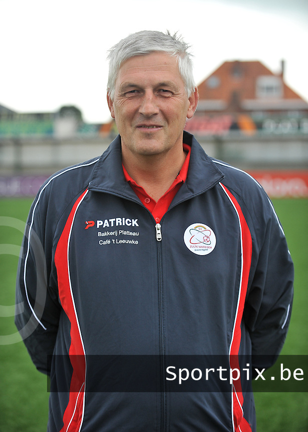 20130824 - Zulte , Belgium :  trainer Jean-Marie Saeremans , Saturday 24 August 2013. Teampictures <br /> PHOTO DAVID CATRY / Nikonpro.be