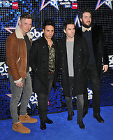 Stereophonics (Richard Jones, Adam Zidani, Kelly Jones and Jamie Morrison) at the Global Awards 2019, Hammersmith Apollo (Eventim Apollo), Queen Caroline Street, London, England, UK, on Thursday 07th March 2019.<br /> CAP/CAN<br /> &copy;CAN/Capital Pictures