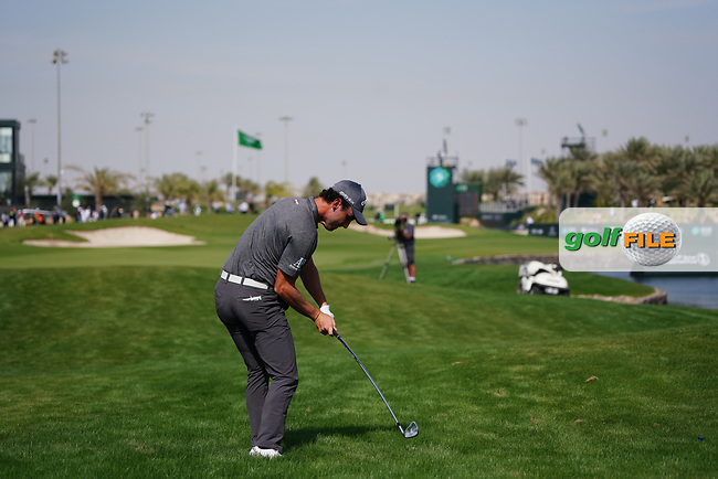 Renato Paratore (ITA) on the 9th during Round 4 of the Saudi International at the Royal Greens Golf and Country Club, King Abdullah Economic City, Saudi Arabia. 02/02/2020<br /> Picture: Golffile | Thos Caffrey<br /> <br /> <br /> All photo usage must carry mandatory copyright credit (© Golffile | Thos Caffrey)