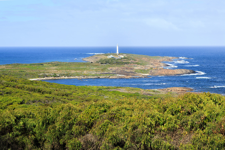 Cape Leeuwin Lighthouse. Western Australia.