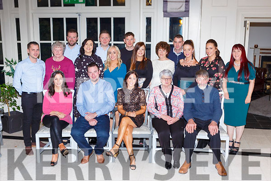 Emma Murphy seated centre celebrated her birthday with her family and friends in the Killarney Heights Hotel on Saturday