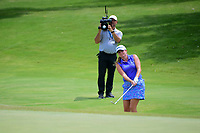 Dori Carter (USA) chips on to 9 during round 2 of  the Volunteers of America Texas Shootout Presented by JTBC, at the Las Colinas Country Club in Irving, Texas, USA. 4/28/2017.<br /> Picture: Golffile | Ken Murray<br /> <br /> <br /> All photo usage must carry mandatory copyright credit (&copy; Golffile | Ken Murray)