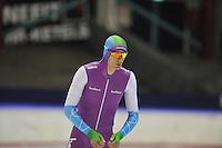 SCHAATSEN: HEERENVEEN: 20-12-2013, IJsstadion Thialf, KKT Trainingswedstrijd, 500m, Thomas Krol, ©foto Martin de Jong