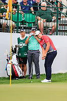 Sungjae Im (KOR) on the 10th green during the 3rd round of the Waste Management Phoenix Open, TPC Scottsdale, Scottsdale, Arisona, USA. 02/02/2019.<br /> Picture Fran Caffrey / Golffile.ie<br /> <br /> All photo usage must carry mandatory copyright credit (© Golffile | Fran Caffrey)