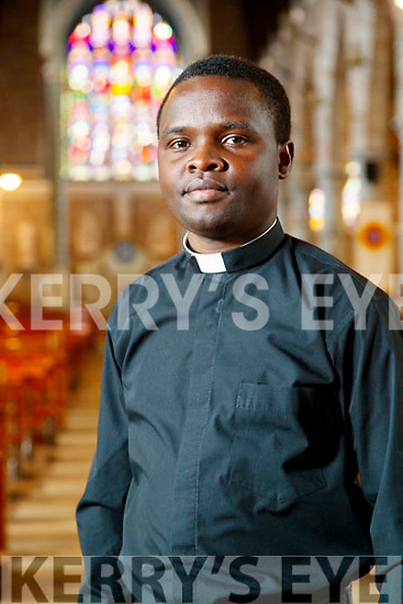 Father Amos Ruto  (Kenya) in St. John's Church, Tralee.