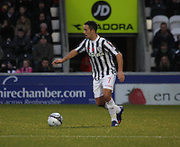 Dougie Imrie in the St Mirren v Aberdeen Clydesdale Bank Scottish Premier League match played at St Mirren Park, Paisley on 9.11.12.