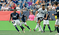 FOXBOROUGH, MA - JUNE 26: Haris Medunjanin #6 during a game between Philadelphia Union and New England Revolution at Gillette Stadium on June 26, 2019 in Foxborough, Massachusetts.