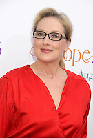 NEW YORK, NY - AUGUST 6, 2012: Meryl Streep at the 'Hope Springs' premiere at the SVA Theater on August 6, 2012 in New York City. &copy;&nbsp;RW/MediaPunch Inc. /NortePhoto.com<br />