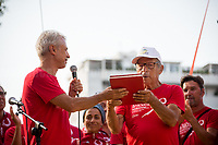 &quot;We are here to fight for Truth and Justice&quot; - Salvatore Borsellino - Magistrate Paolo Borsellino&rsquo;s brother and founder of the Moviment Agende Rosse/Red Notebooks Movement, http://19luglio1992.com.<br />