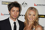 HOLLYWOOD, CA - January 22: Yvonne Strahosvski and Tim Loden arrive at the G'Day USA Australia Week 2011 Black Tie Gala at the Hollywood Palladium on January 22, 2011 in Hollywood, California.