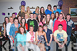 Shannon O'Sullivan,Caherleaheen,Tralee(seated centre)enjoying her 18th birthday last Friday night in NancyMyles bar,Ballymullen,Tralee,surrounded by many friends and family..
